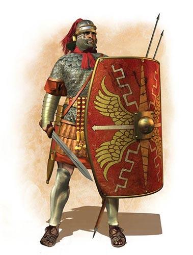 Легионер времен Дакийских войн