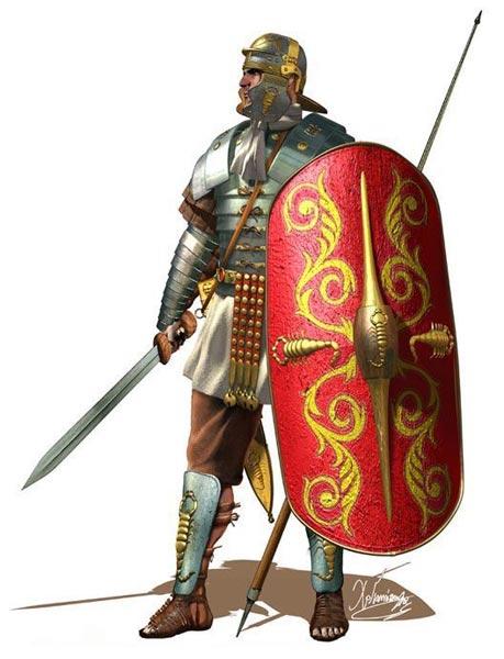 Преторианец времен Дакийских войн