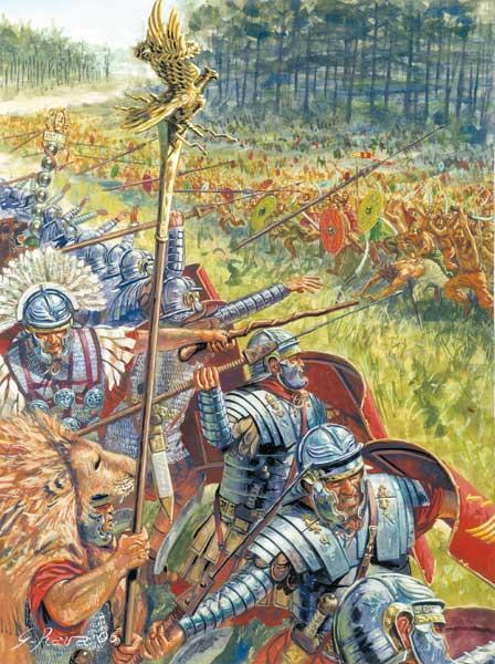 Битва римской армии с даками