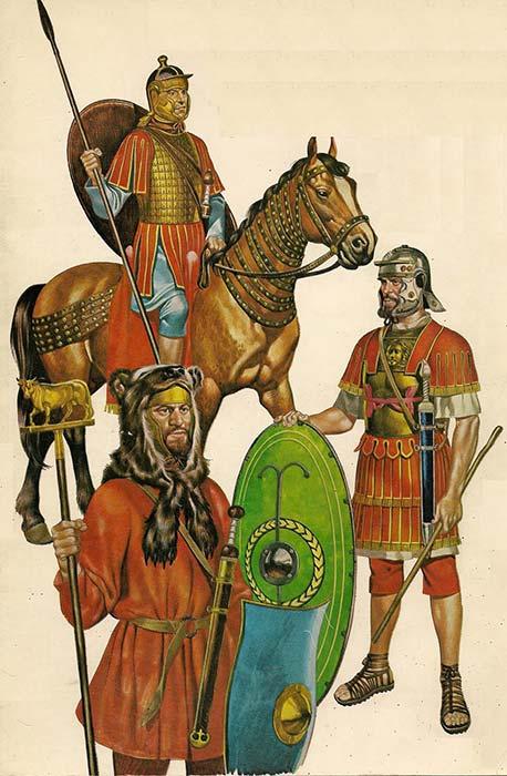 Римские войска конца 2 начала 3 в.
