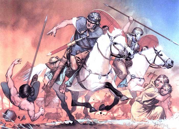 Римская конница конца 1 начала 2 в.
