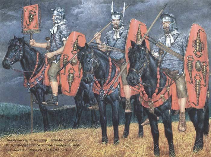 Преторианская конница времен Дакийских войн