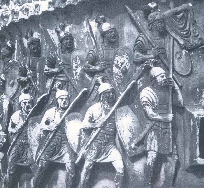 Легионеры на марше
