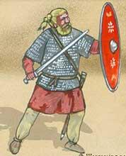 Германский воин 1 века