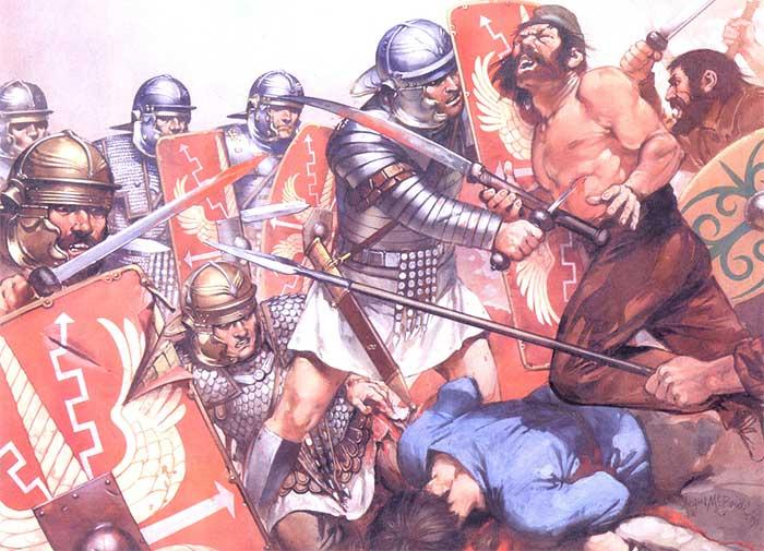 Вооружение легионеров в Дакийских войнах