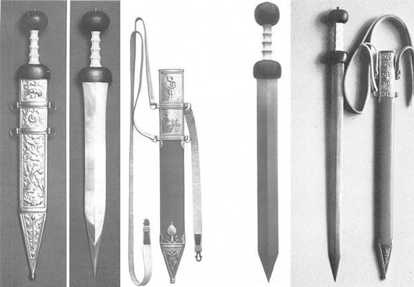 Римские мечи времен принципата