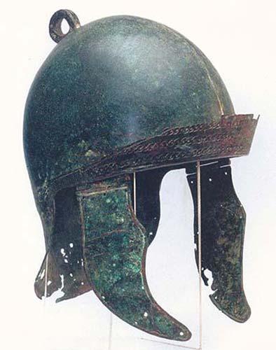 Аттический шлем времен принципата