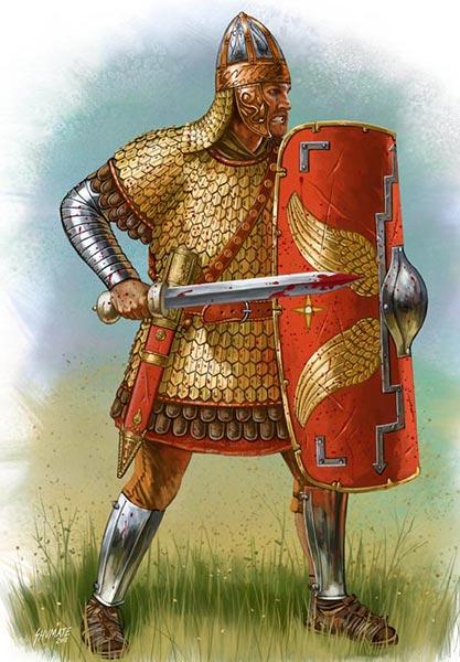 Вооружение легионера Траяна
