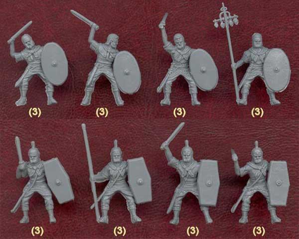 Наборы всадников римской армии 1-2 в.