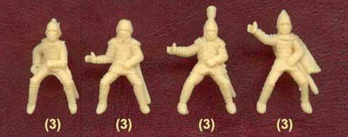 Наборы всадников для римской армии 1-3 в.