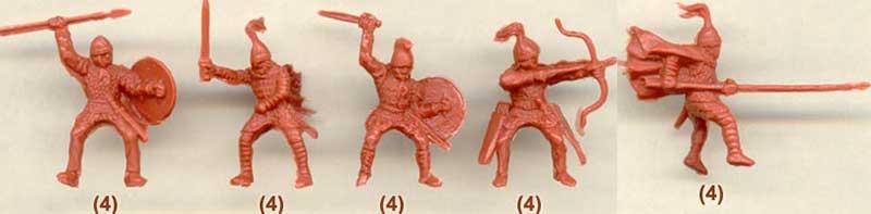 Наборы всадников для римской армии 3 в.