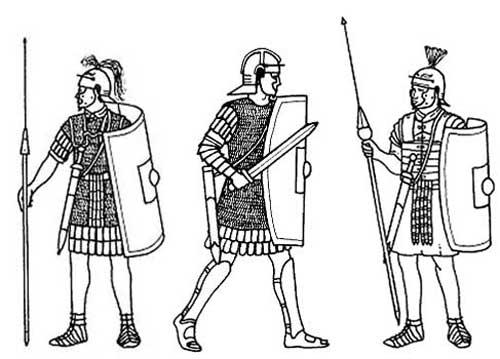 Легионеры 1-2 в.