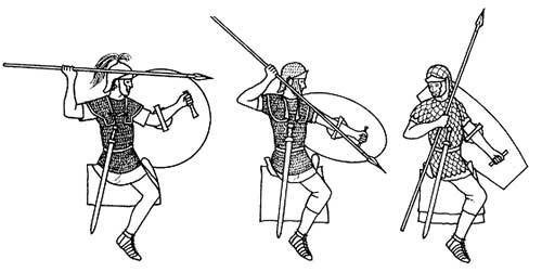 Средняя конница римской армии 1-3 в.