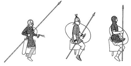Тяжелая конница римской армии 3 в.