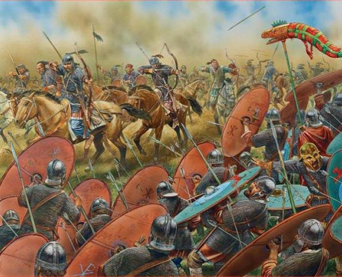 Картинки по запросу битва на каталаунських полях