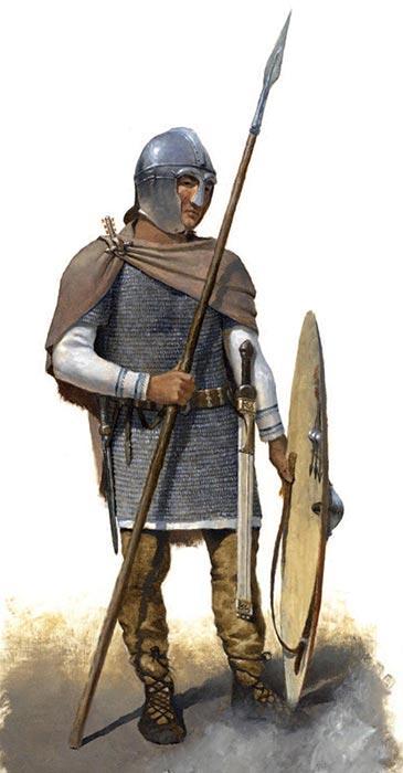 Римский воин середины 5 в.