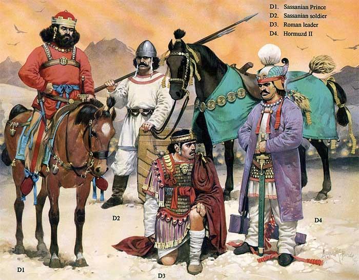 Римский полководец в плену у сасанидов