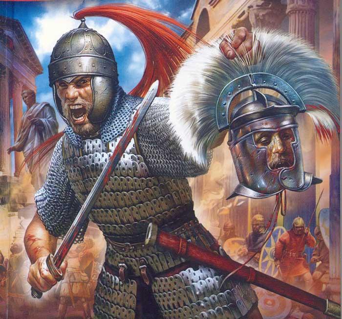 Взятие Рима Аларихом