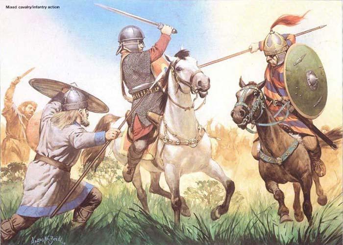 Готы против римлян