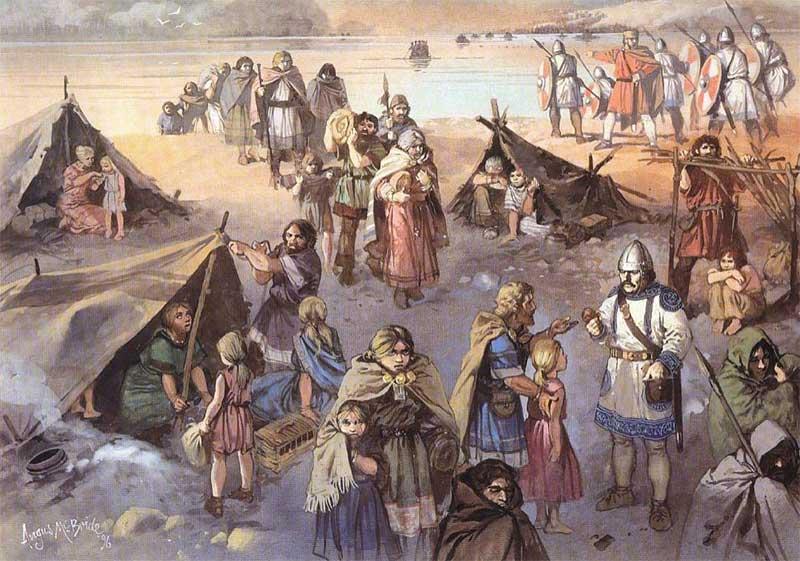 Переправа готов через Дунай