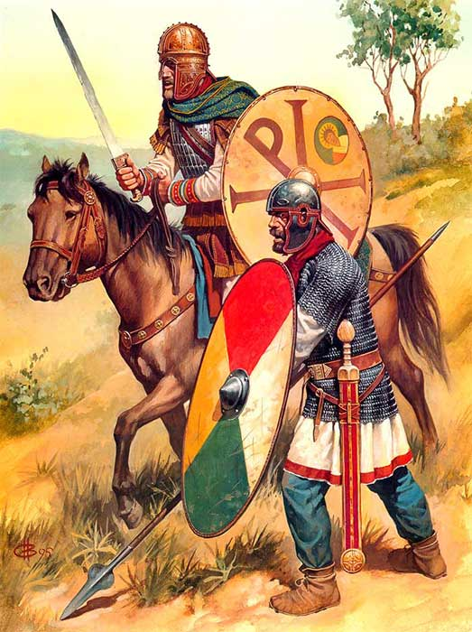 Солдаты Константина Великого