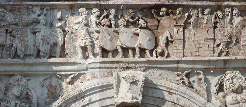 Осада Вероны армией Константина Великого