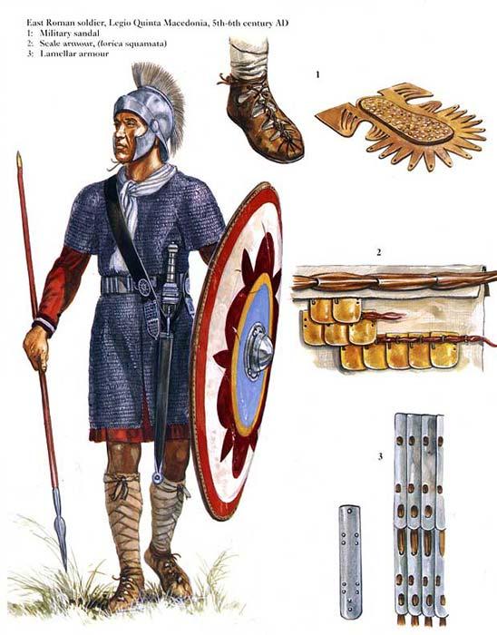 Солдат пограничной армии из 5 Македонского легиона