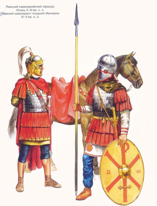 Римские всадники принципата и домината