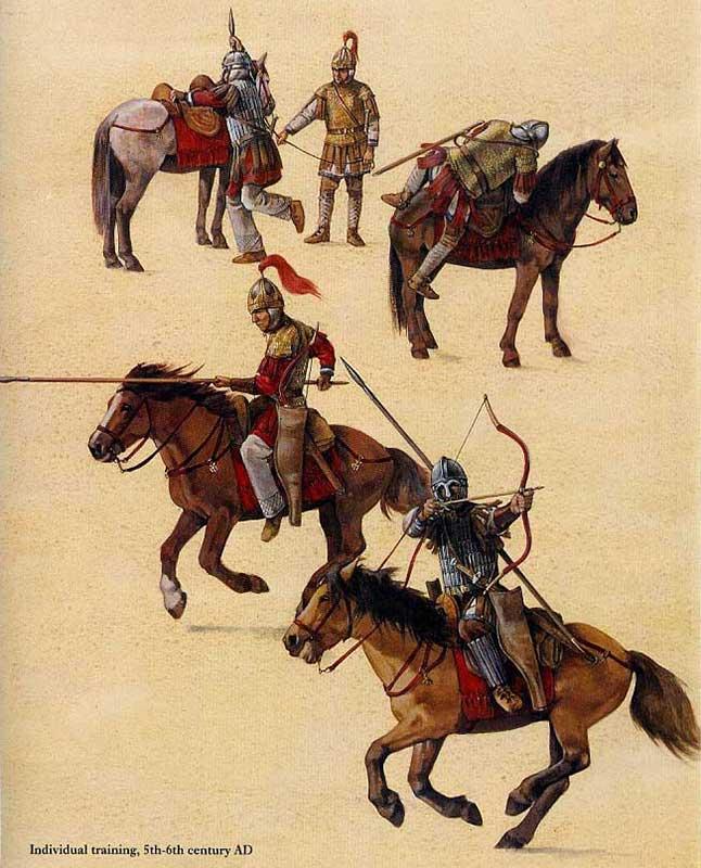 Римская конница эпохи домината