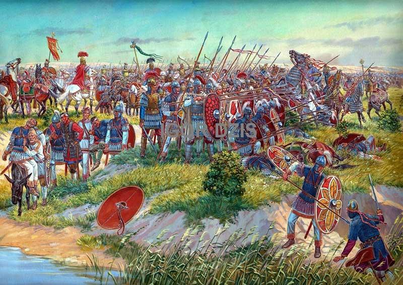 Битва при Каллинике, 531 г.