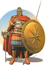 Византийский скутарий 6 в.
