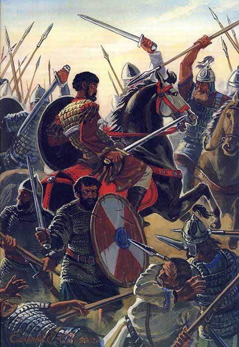 Велизарий в битве за Рим