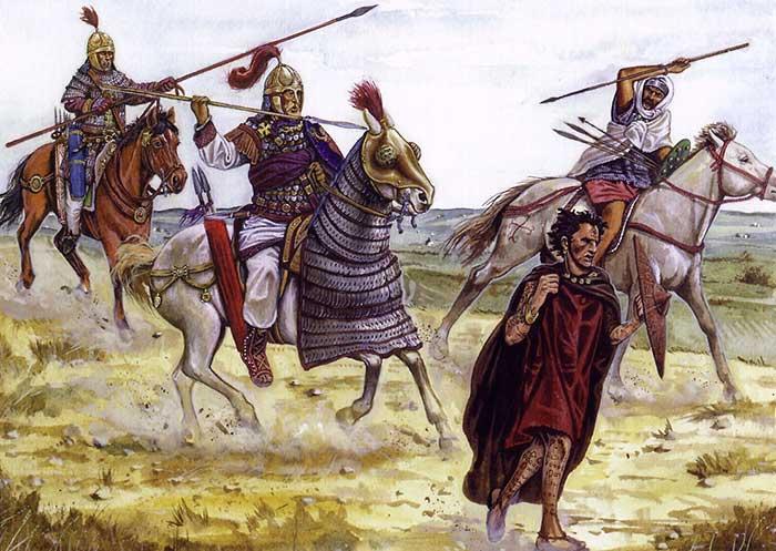 Византийцы против маврусиев