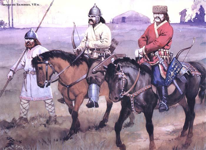 авары и славяне