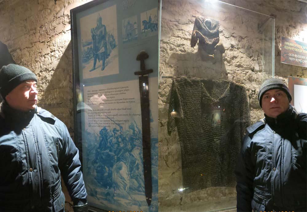 Древнее вооружение в Старой Ладоге