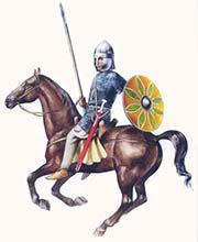 Византийский всадник 6 в.