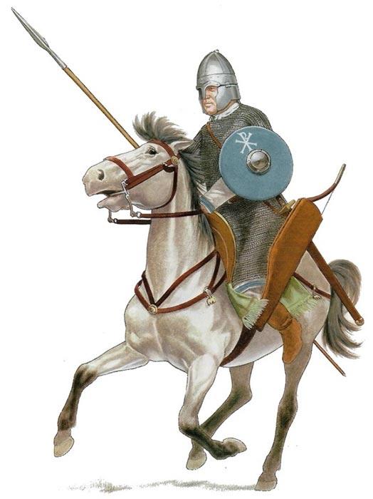 Универсальный византийский всадник