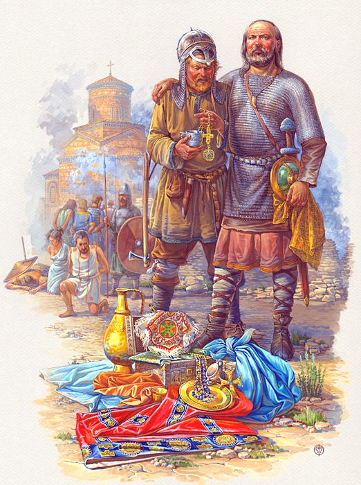 Русы Святослава в Болгарии