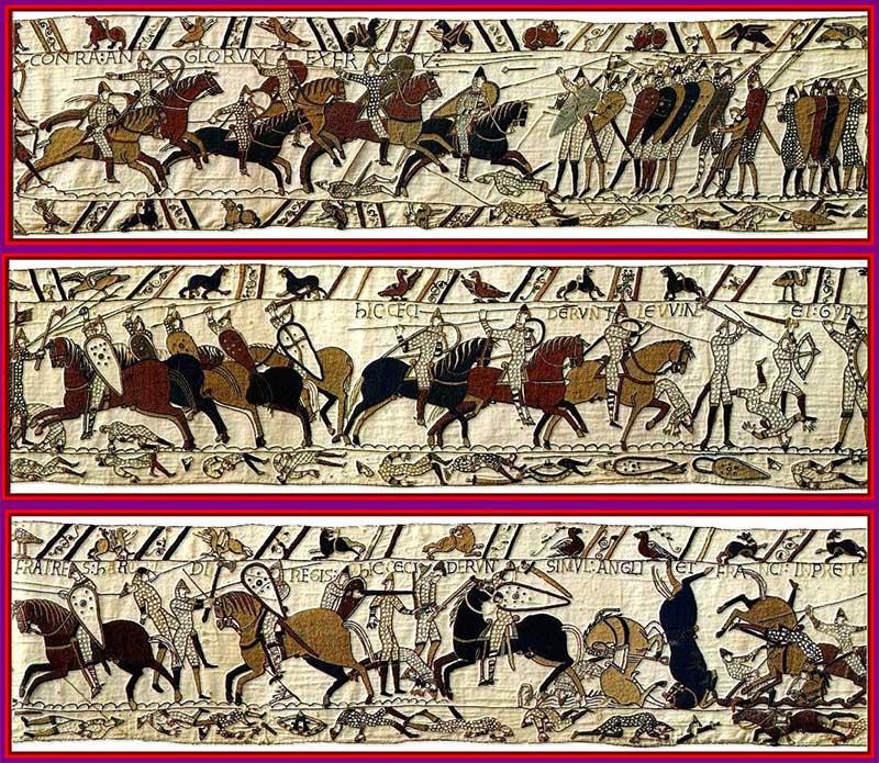 Битва при Гастингсе, Ковер из Байо