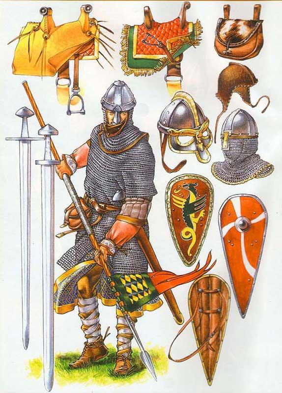 Нормандский рыцарь 11 в.