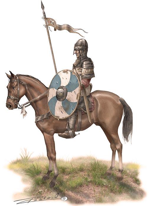 Рыцарь или сержант норманнов, 11 в.
