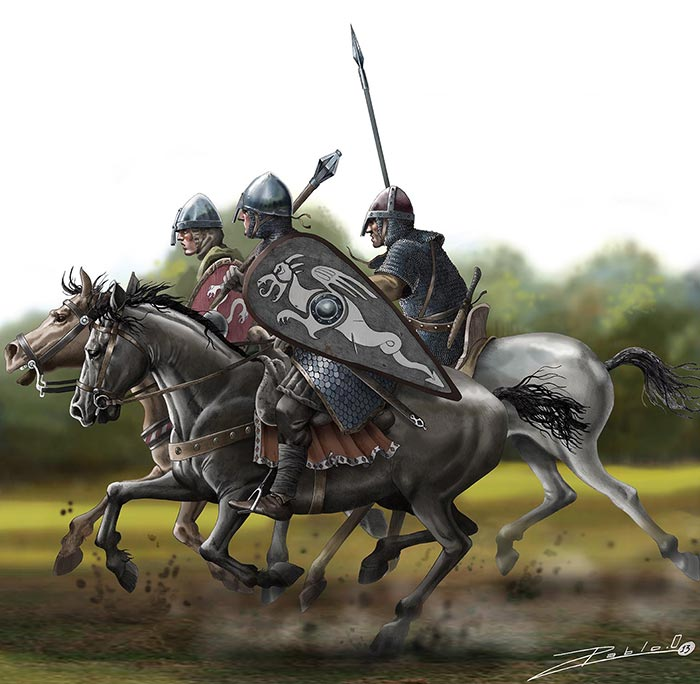 Еспископ Одо, брат Вильгельма в битве при Гастингсе