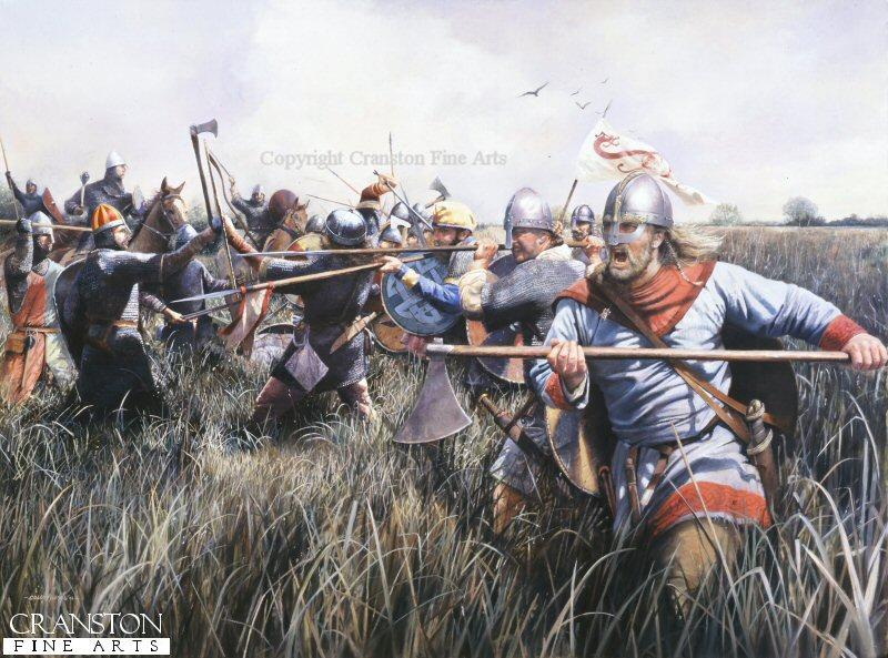 Контратака англо-саксов