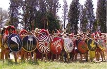 Греческие гоплиты 5 в. до н.э.