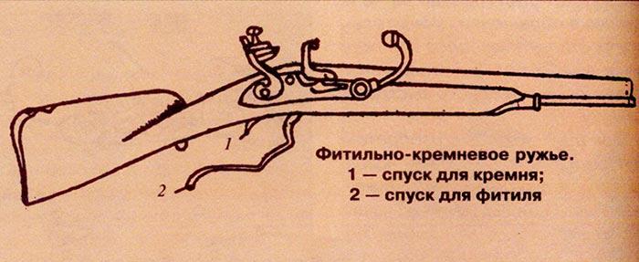 Мушкет с двумя замками