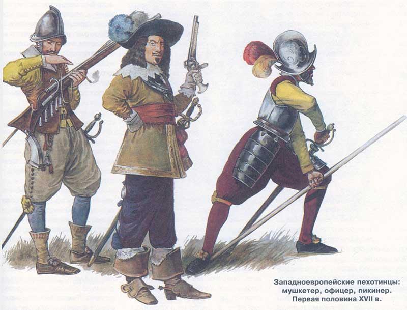 Солдаты Тридцатилетней войны