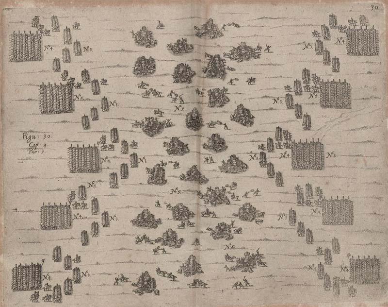 Боевые порядки армий в Тридцатилетней войне