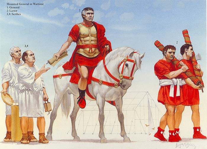 Римский полководец 2 в. до н.э.