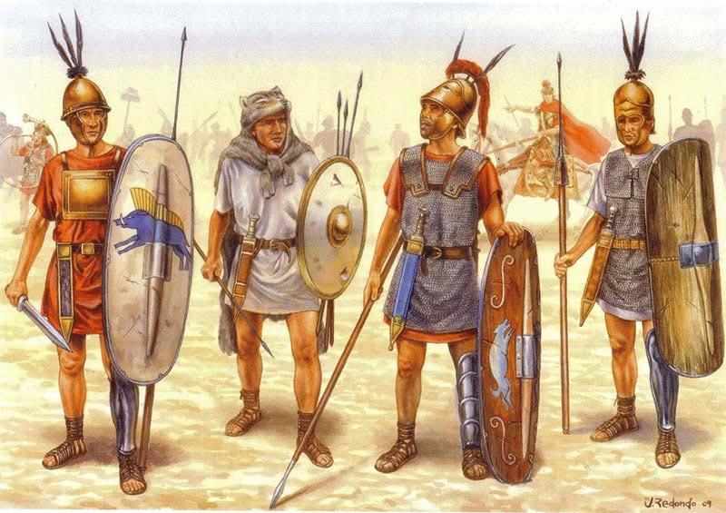 Легионеры 2 в. до н.э.