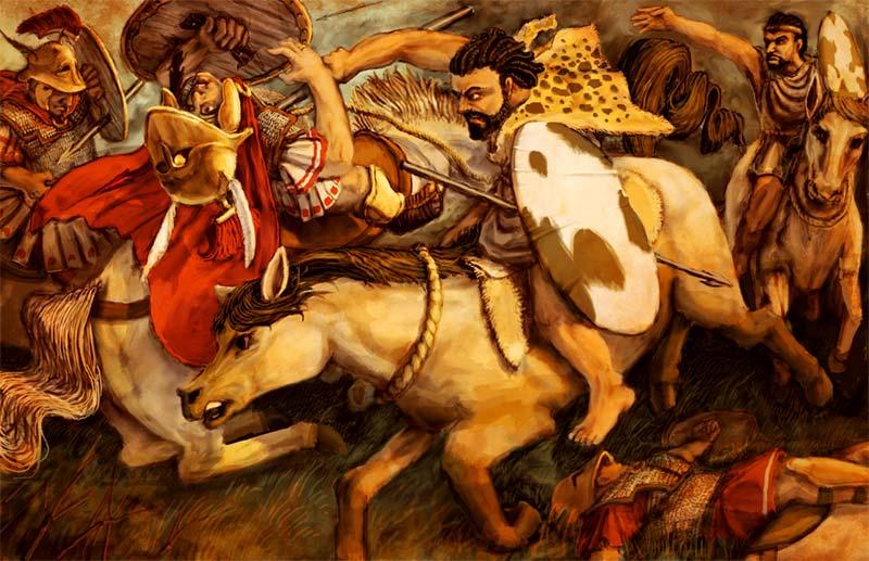 Нумидийцы против римлян
